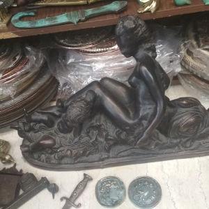 μπρούτζινο άγαλμα art deco