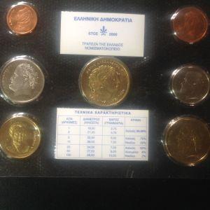 Τελευταίες δραχμές 2000 σε καρτέλα της Τράπεζας της Ελλαδος