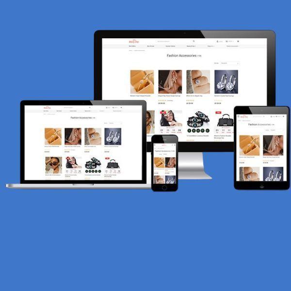 kataskevi aftomatou Dropshipping e-shop Basic