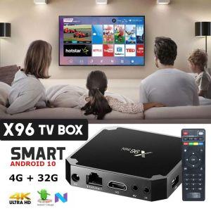 Box Smart Tv Android 10.0 SJ-X96 4gb/32Rom 8K WiFi Netflix-IPTV