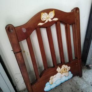 Βρεφικό κρεβάτι ξυλινο