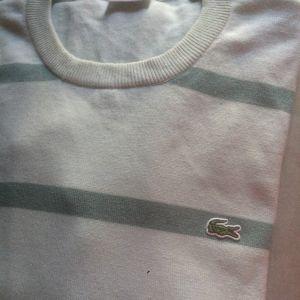 Lacoste πουλοβερ -Μπλουζα Ν0 5 με ριγες δυο αποχρωσεων