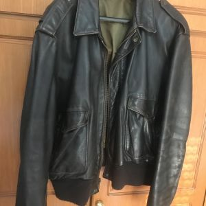 SCHOTT NYC TYPE A-2 LEATHER JACKET No 50