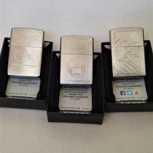 Αναπτήρες 25-50-80 χρόνια Zippo Limited Edition Made in USA