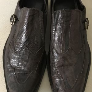 extremely gorgeous extravagant elegant unique genuinely leather loafers by CESARE p made in Italy size 43 in excellent condition made in Italy extremely gorgeous extravagant elegant unique genuine sue