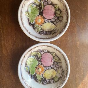 2 Vintage Πιάτα, Made in Japan