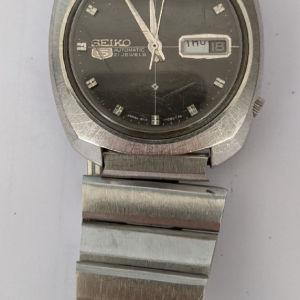 Vintage SEIKO 5 Automatic 21 Jewels! Λειτουργεί κανονικά.