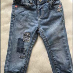 Jean παντελόνι 12 μηνών