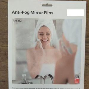 Αντιθαμβωτικό Φύλλο για Καθρέφτη InnovaGoods (Πακέτο με 2)