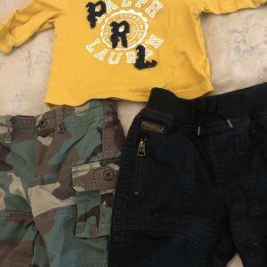 Σετακι 2 παντελόνια κ t shirt - Polo Ralph Lauren / 3M