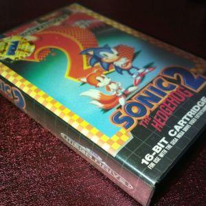 Case με εξώφυλλο Sonic 2 (MegaDrive)