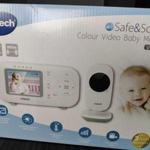 Vtech Ενδοεπικοινωνία Μωρού Με Κάμερα & Ήχο - VM2251 (Αχρησιμοποίητο, στο κουτί απο 109ευρώ ΜΟΝΟ 65ευρώ)