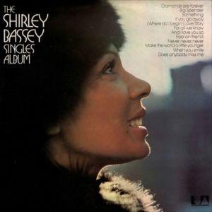 (LP) SHIRLEY BASSEY - SINGLES ALBUM