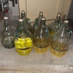 Ντεμιτζάνες κρασιού