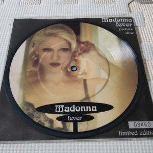 """Madonna Fever UK 7"""" Picture Disc"""