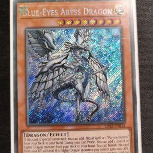 Blue- Eyes Abyss Dragon Secret Rare
