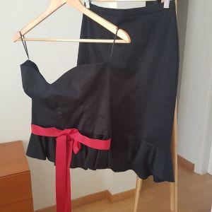 Rita Pateroni σετ τοπ+φούστα