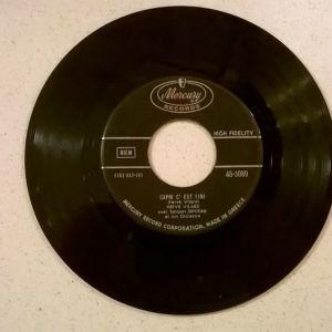 Vinyl record 45 - Herve Vilard