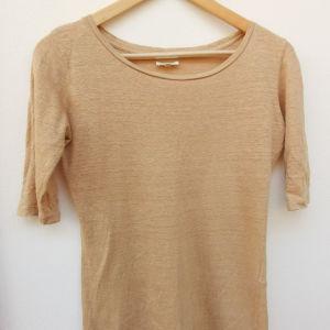 Authentic Bellerose λινό μπλουζάκι Νο S