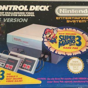 Nintendo NES ΣΤΟ ΚΟΥΤΙ ΤΟΥ, κομπλε, αριστη κατασταση, για συλλεκτη