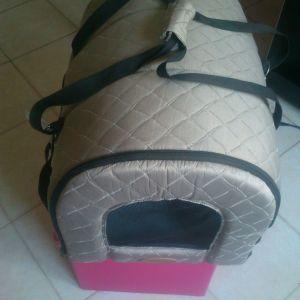 Τσάντα μεταφοράς κατοικίδιου