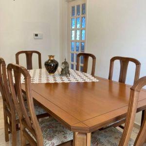 Τραπέζι σαλονιού + 6 καρέκλες
