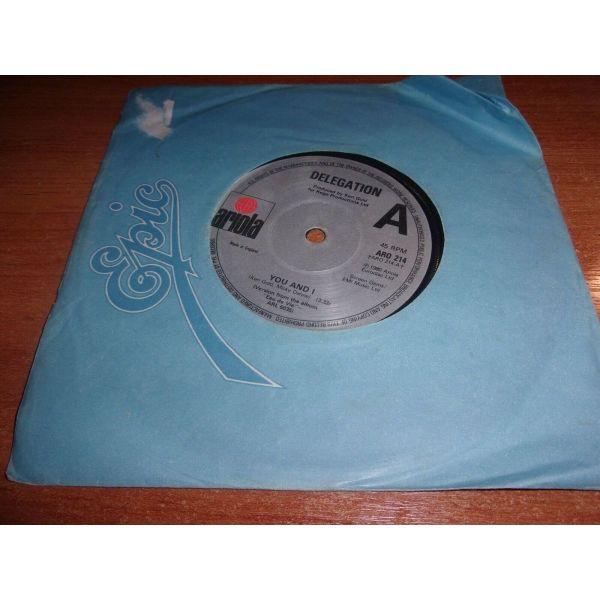 DELEGATION YOU AND I spanios diskos RECORD!!