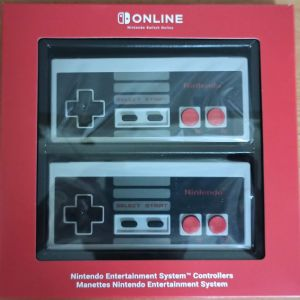 Nintendo Switch Classic NES controllers
