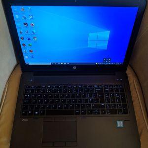 """HP ZBook 15 G3, 15.6"""", i7 6820HQ ,16GB Ram, 256GB SSD&500GB HDD,FULL HD, HDMI, WebCam, Win.10 Pro."""