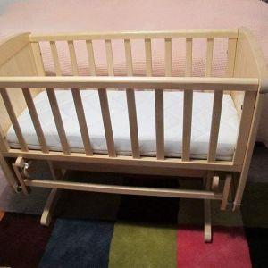 Λίκνο & ανατομικο στρωμα Mothercare σε αριστη κατασταση + δωρο ρουχαλακια η παιχνιδακια