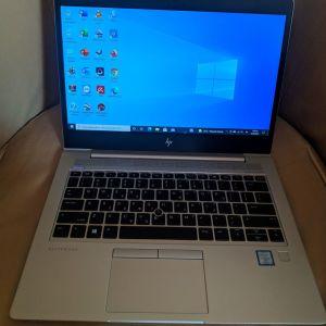 """ΗP EliteBook x360 830 G6,13.3"""",i5 8365U,256gb SSD, 8gb DDR4 Ram, Full HD, Web Cam, HDMI, Win 10pro."""