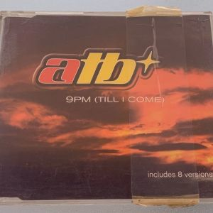 ATB - 9PM (till I come) 8trk cd single