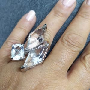 Oxétte ring Pure Silver 925