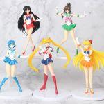 5 Συλλεκτικες Φιγουρες Δρασης Sailor Moon