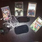 Sony PSP -θηκη-φορτιστη και ακουστικα