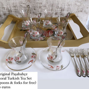 Turkish Tea Set (Potiria gia Tourkiko Tsai)