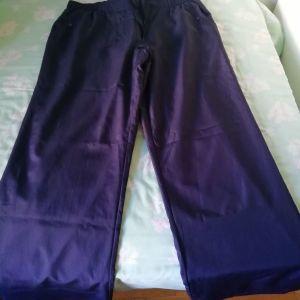 Μπλε αθλητικό παντελόνι PUMA XL