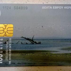 Τηλεκάρτα (1) - Δέλτα Έβρου Φέρες