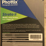 Ραδιοσυχνότητες (πομπός και δέκτης) Phottix Strato II multi 5-in-1 trigger για Canon. Aσύρματη ενεργοποίηση κάμερας και φλας έως 150 μ.  4 κανάλια και 4 γκρούπ. Άριστο, στο κουτί του!