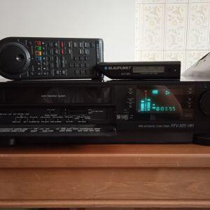 video BLAUPUNKT RTV_920 HIFI(PANASONIC NV_FS100),japan,S-VHS,VHS,6 κεφαλες,4 μοτερ,service(καθαρ.-απομαγν. κεφαλων,λιπανση κινουμενων μερων,),κοντρολ,barcode scanner,σαν καινουριο,9kg