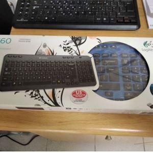 Ασύρματο πληκτρολόγιο Logitech k360 καινούριο