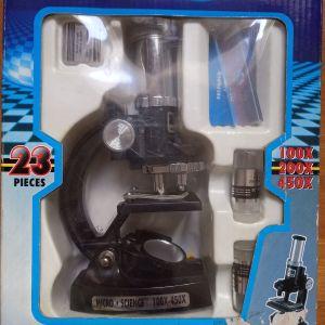 Σετ μικροσκόπιο για παιδιά μεγέθυνσης 450×