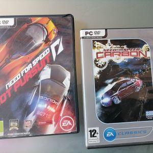 2 παιχνιδια PC game Need for speed