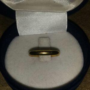 Χρυσό γυναικείο δαχτυλίδι 18κ νο 50