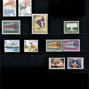 Συλλογή γραμματοσήμων EUROPA