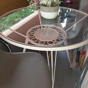 τραπέζι φερ φορζε 80cm διαμετρος