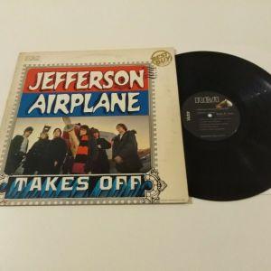 JEFFERSON AIRPLANE - TAKES OFF  VINYL RECORD LP