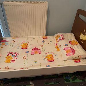 Σετ Παιδικο κρεβάτι-Κούνια με Συρταριέρα