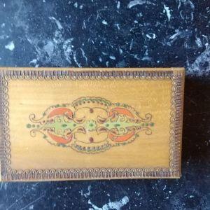 Παλαιό ξύλινο διακοσμητικο κουτι