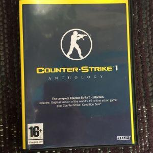 5 PC GAME COUNTER STRIKE 1 ANTHOLOGY 10 ευρω ολα